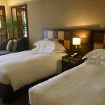 シェラトン都ホテル東京 コンフォートデラックスツイン(2018年5月)